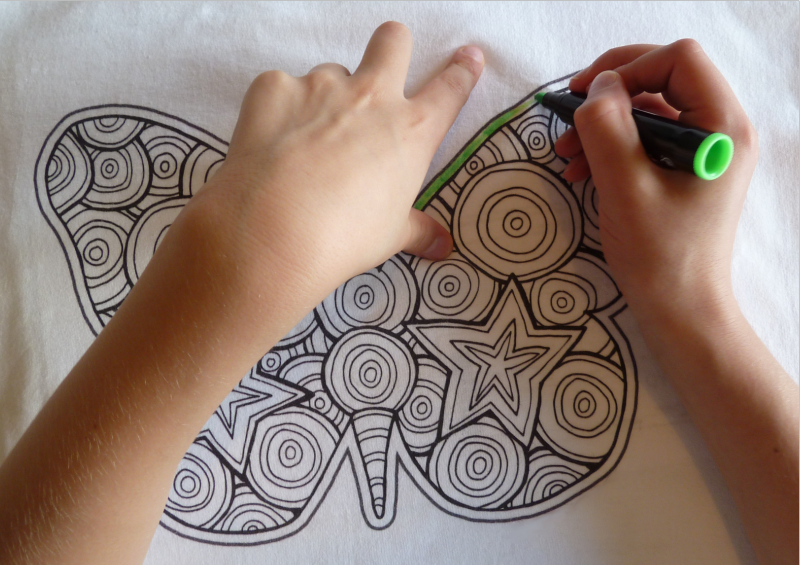 Coloring T-Shirts: T-shirt Coloring Gallery
